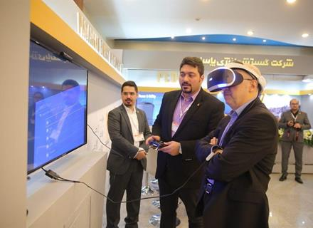 oil ministry's deputies visited the virtual reality film project of the Pasargad Energy Development Company