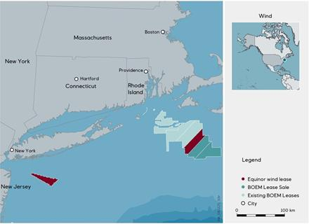 Equinor acquires offshore wind lease outside Massachusetts