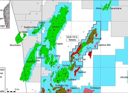 Oil discovery from Visund in the North Sea