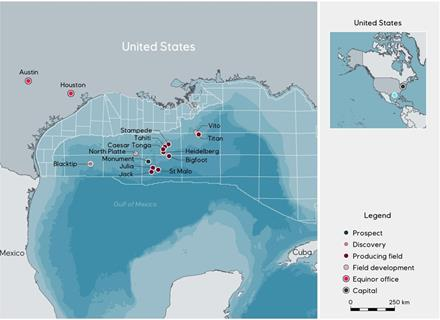 Oil discovery in the deep-water US Gulf of Mexico