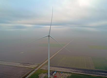 GE's Largest Onshore Wind Turbine Prototype Installed and Operating in the Netherlands