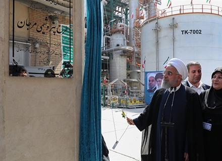 Iran Launches Major Petchem Projects in Asaluyeh
