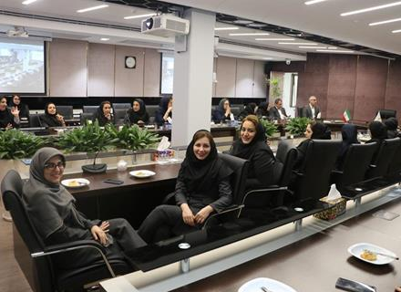 Women's Day Congratulations and Mother's Day to her colleagues at Pasargad Energy Development Company