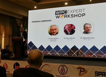 Mr. Mirmoezi CEO at PEDC as keynote speaker in WPC expert workshop about sustainable strategies for HSE in the oil, gas & petrochemical industry