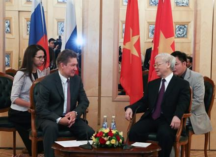 Around 21 per cent of Vietnamese gas produced within Bien Dong joint project of Russia and Vietnam
